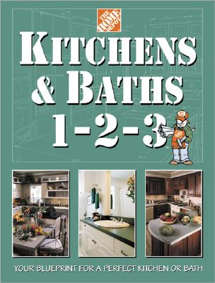 Image for Kitchens & Baths 1-2-3 (Home Depot ... 1-2-3)