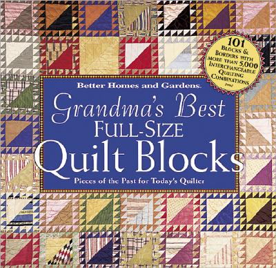 Image for GRANDMAS BEST FULL SIZE QUILT BLOCKS
