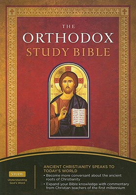 Image for The Orthodox Study Bible: New King James Verison, Black, Bonded Leather
