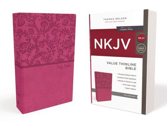 Image for NKJV Value Thinline Bible   LS Pink RL