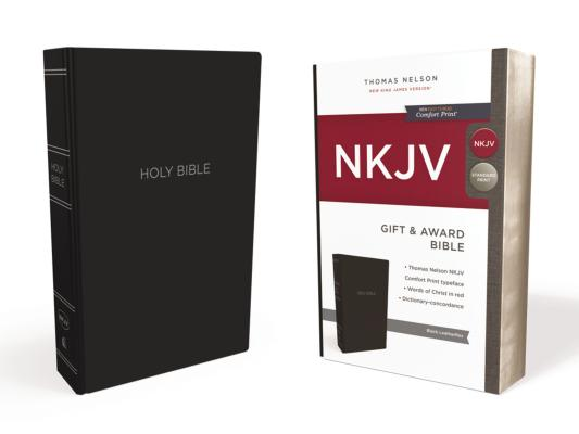 Image for NKJV, Gift and Award Bible, Leather-Look, Black, Red Letter Edition