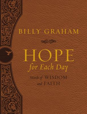 Image for Hope for Each Day Large Deluxe: Words of Wisdom and Faith