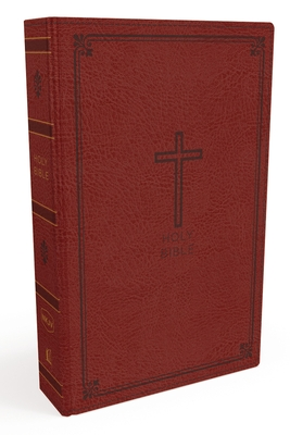 Image for NKJV, Thinline Bible, Standard Print, Imitation Leather, Red, Red Letter Edition
