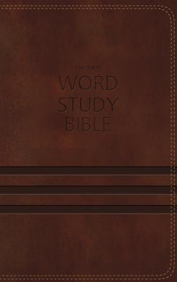 """Image for """"''NKJV Word Study Bible (Brown Imitation Leather, Thumb Indexed)''"""""""