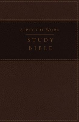 """Image for """"''NKJV, Apply the Word Study Bible, Large Print (Leathersoft, Earth Brown, Indexed)''"""""""
