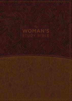 "Image for ""The NKJV Womans Study Bible (BrownBurgundy Imitation Leather, Thumb Indexed)"""