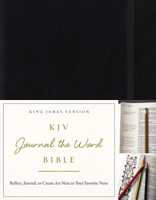 Image for KJV Journal the Word Bible (Black Hardcover)