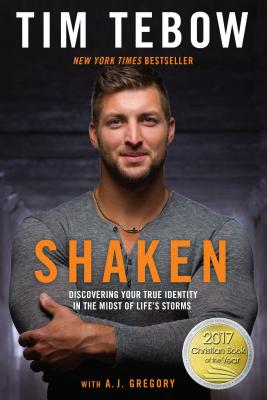 Image for SHAKEN DISCOVERING YOUT TRUE IDENTITY IN THE MIDST OF LIFE'S STORMS