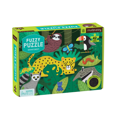 Image for RAINFOREST FUZZY PUZZLE