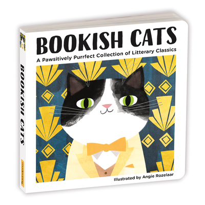 Image for BOOKISH CATS BOARD BOOK