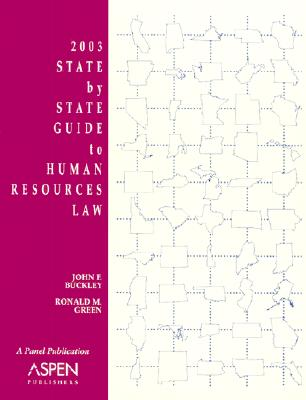 Image for 2003 State by State Guide to Human Resources Law (State By State Guide to Human Resources Law, 2003)