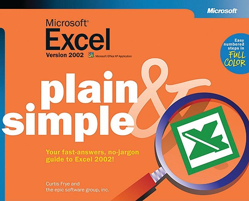 Image for Microsoft Excel Version 2002 Plain & Simple