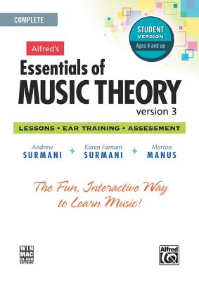 Alfred's Essentials of Music Theory Software, Version 3.0: Complete Student Version, Software, Surmani, Andrew; Surmani, Karen Farnum; Manus, Morton