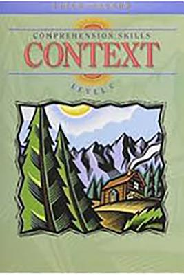 Image for Steck-Vaughn Comprehension Skill Books: Student Edition Context Context