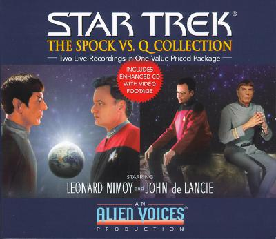Image for Spock vs. Q Gift Set (Star Trek (Unnumbered Audio))