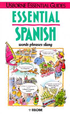 Image for Essential Spanish (Usborne Essential Guides) (English and Spanish Edition)