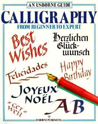 Image for An Usborne Guide Calligraphy: From Beginner to Expert (Usborne Practical Guides)