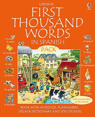 First 1000 Words Pack - Spanish, Cartwright, Stephen