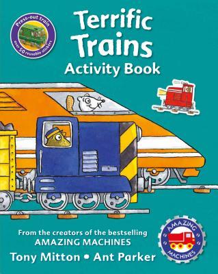 Image for Amazing Machines Terrific Trains Activity Book