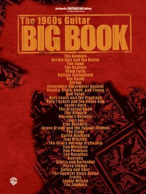 Image for The 1960s Guitar Big Book: Authentic Guitar TAB (Guitar Big Book Series)