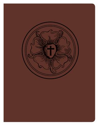 The Lutheran Study Bible - Luthers Rose - Brown/Burgundy, Concordia Publishing House