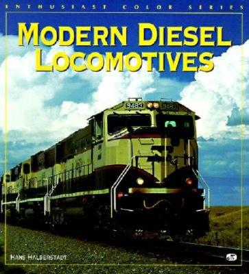 Image for Modern Diesel Locomotives (Enthusiast Color Series)