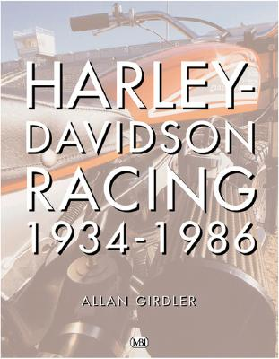 Image for Harley-Davidson Racing, 1934-1986