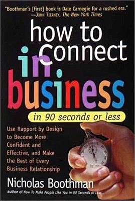Image for How to Connect in Business in 90 Seconds or Less