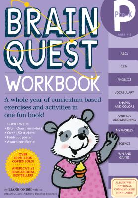 Image for Brain Quest Workbook: Pre-K