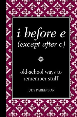 i before e (except after c), Parkinson Judy