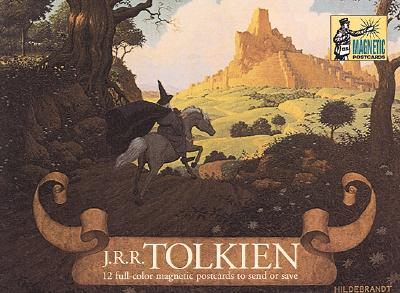 Image for Tolkien Magnetic Postcards: 12 Full-Color Magnetic Postcards to Send or Save
