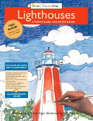 Image for Lighthouses: A Fact-filled Coloring Book (Start Exploring (Coloring Books))
