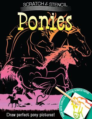 Image for Scratch & Stencil: Ponies