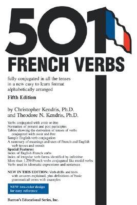 Image for 501 French Verbs (Barron's 501 French Verbs)