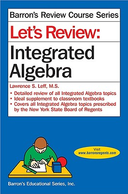 Image for Let's Review: Integrated Algebra (Let's Review Series)