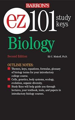 EZ-101 Biology (Barron's Ez-101 Study Keys), Minkoff,Eli C.
