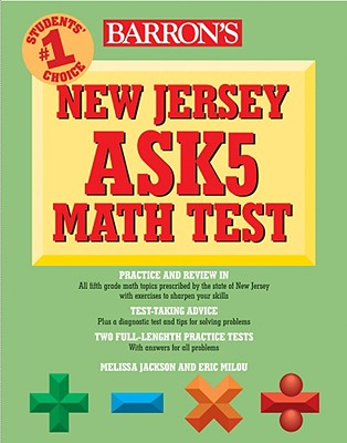 Image for Barron's New Jersey Ask5 Math Test