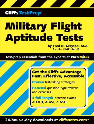 "CliffsTestPrep Military Flight Aptitude Tests, ""Grayson, Fred N"""