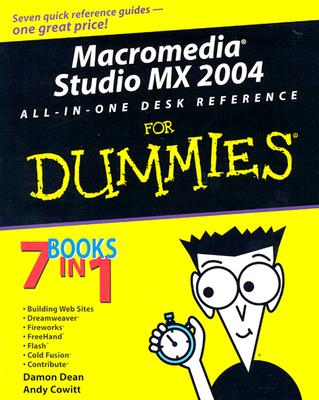 Image for Macromedia Studio MX 2004 All-in-One Desk Reference For Dummies (For Dummies (Computers))