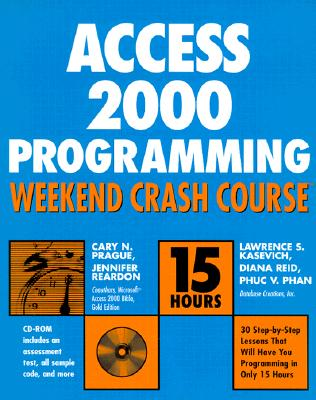 Image for Access 2000 Programming Weekend Crash Course