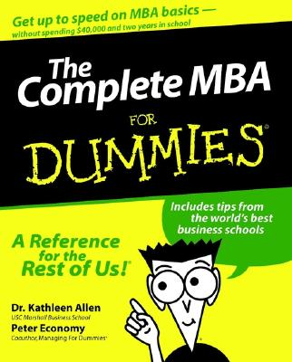 Image for The Complete MBA For Dummies
