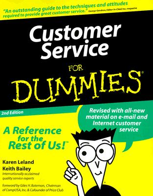 Image for Customer Service For Dummies (For Dummies (Computer/Tech))