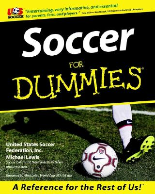"""Soccer For Dummies, """"Federation, Inc. United States Soccer, Lewis, Michael"""""""