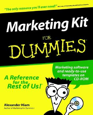 Image for MARKETING KIT FOR DUMMIES
