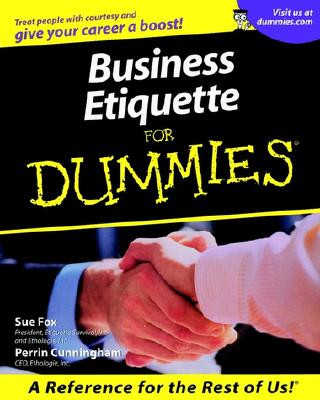 Image for Business Etiquette For Dummies