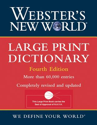 Image for Webster's New World Large Print Dictionary