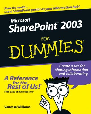 Image for Microsoft SharePoint 2003 For Dummies (For Dummies (Computer/Tech))