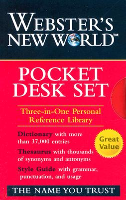 WNW Dictionary, Thesaurus, Style Guide Pocket DeskSet, Staff of Webster's New World Dictionary (Author)
