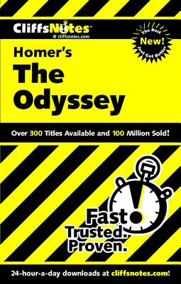 Image for CliffsNotes on Homer's The Odyssey (Cliffsnotes Literature Guides) [Paperback] Baldwin, Stanley P