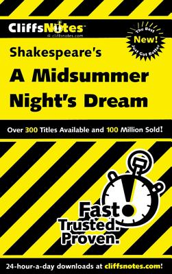 Image for CliffsNotes on Shakespeares A Midsummer Nights Dream (Dummies Trade)